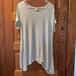 Tunic length t-shirt